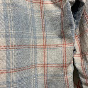 The Shirt by Rochelle Behrens Tops - The Shirt Plaid Flannel Pocket Button Down